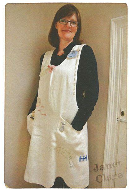 japanese apron pattern uk janet clare apron pattern too cute moda sightings
