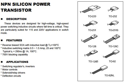 datasheet transistor h1061 transistor h1061 datasheet 28 images h1061 pmc diffused silicon npn transistor fy4aej 03