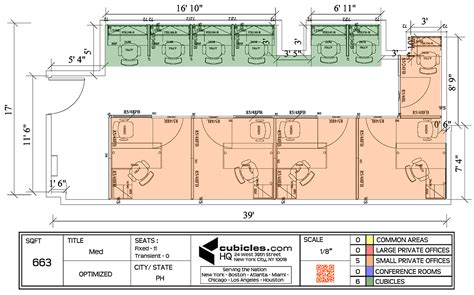 cubicle floor plan cubicle layout for 663 square footage with 6 cubicles and