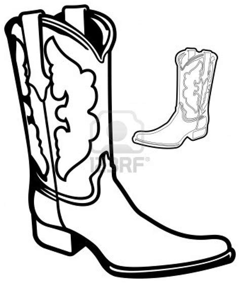 11 Images Of Cartoon Cowboy Boot Coloring Page Winter Drawing Of A Cowboy Boot Printable