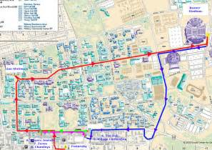 Penn State University Campus Map by A Woman Named Sophie Visiting My Happy Place