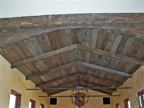 weathered wood ceiling photo 994 weathered timbers and barnwood ceiling