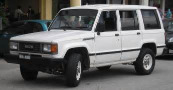 Isuzu Tropper File Isuzu Trooper Generation Facelift