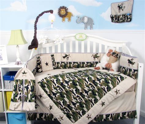Camo Crib Bedding Sets For Boys 21 Inspiring Ideas For Creating A Unique Crib With Custom Baby Bedding Babydotdot Baby Guide