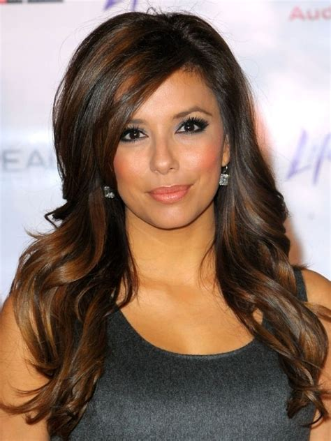 what s the best hair color for dark skin dark brown hair with copper highlights what s the best