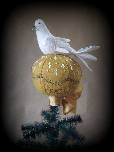 dove christmas tree topper 9 best tree toppers images on tree ornaments tree