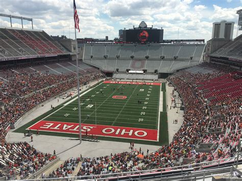 Ohio Stadium Student Section by Ohio Stadium Section 3c Rateyourseats