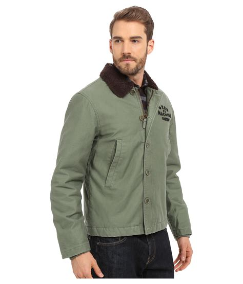Hoodie Zipper Deus Ex Machina Machine Warung Kaos Sweater 2 deus ex machina deck jacket in green for lyst