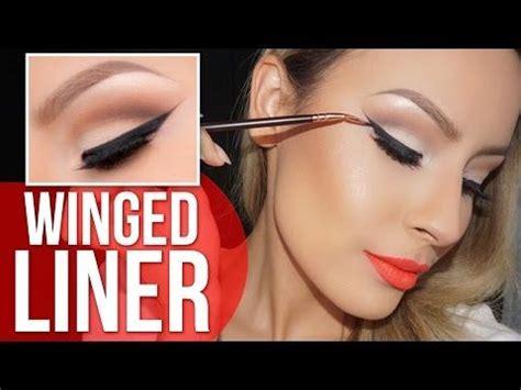 perfect winged eyeliner tutorial youtube 371 best makeup tutorials images on pinterest make up