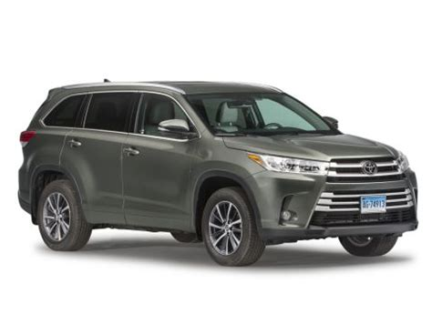 2018 toyota highlander reviews, ratings, prices consumer