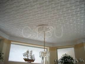 styrofoam ceiling tiles installed