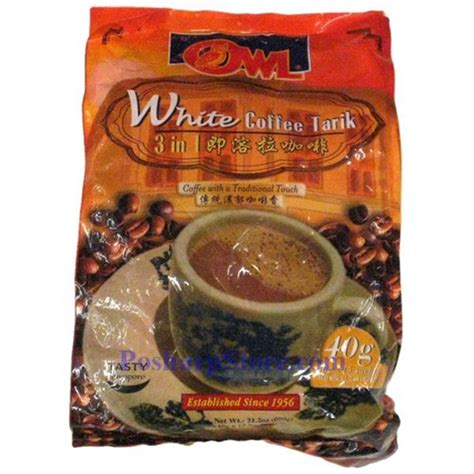 Owl Teh Tarik 20 Sachets owl instant coffee tarik 3 in 1