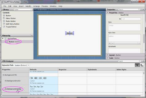 javafx manual layout javafx scene builder user guide skinning with css and the
