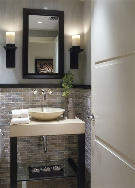 half bathroom tile ideas 5 ways making half bathroom remodel bathroom designs ideas