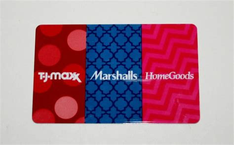 tj maxx marshalls home goods gift card 206 42 free