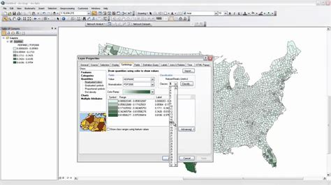 kumpulan tutorial arcgis how to create thematic choropleth maps in arcgis part ii