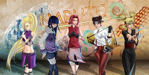 wallpaper girl naruto girls anime wallpaper