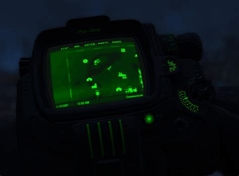 Pip Boy Light by Black Pip Boy With Colored Details Fallout 4 Mod Fo4