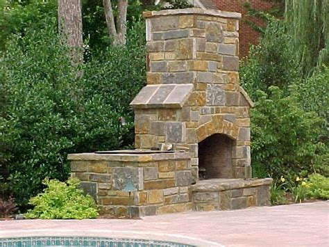 outdoor chimney fireplace fireplaces2