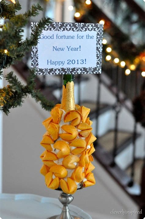 new year fortune new years fortune cookie display
