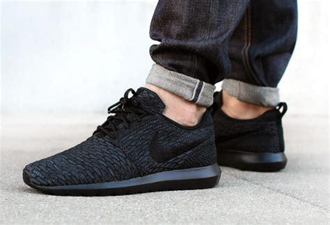 Nike Roshe Run Flyknit Fullblack o 249 acheter la nike roshe run flyknit black
