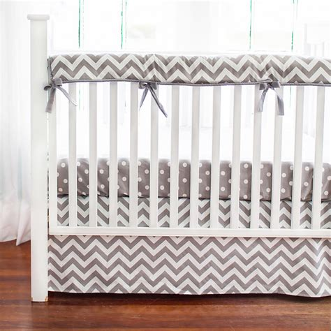 Baby Crib Rail Covers Gray Chevron Crib Rail Cover Crib Rail Guard Crib Rail Protector Crib Rail Covers