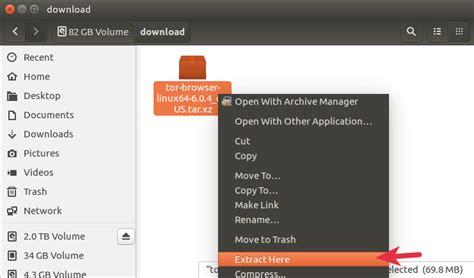 tutorial tor ubuntu tor browser install linux mint