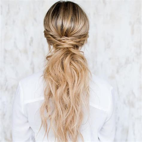 quirky hairstyles for school cute ponytail hairstyles for long hair hairiz