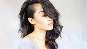 side shave hairsstyle american quot shaved side quot hair tutorial w full wig youtube