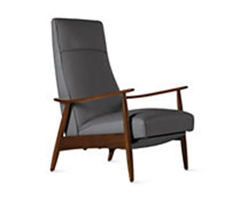 Milo Baughman Recliner 74 In Leather by Recliners And Rocking Chairs Design Within Reach