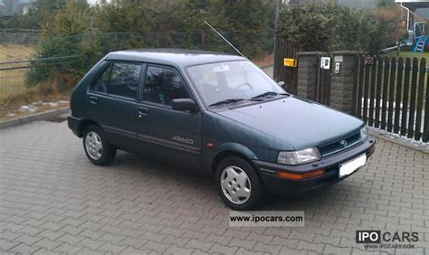 best car repair manuals 1988 subaru justy electronic toll collection 1994 subaru justy 4wd 1200 car photo and specs