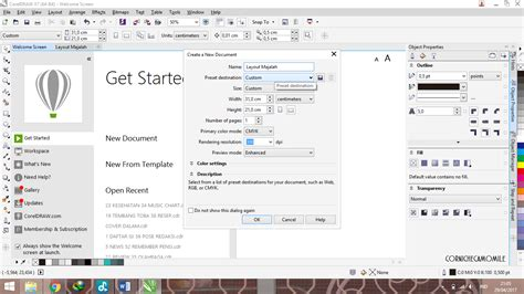 tutorial layout majalah corel camomile tutorial cara membuat layout majalah pemula