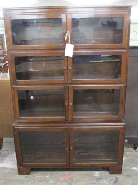 antiques atlas mahogany stacking bookcase by minty of