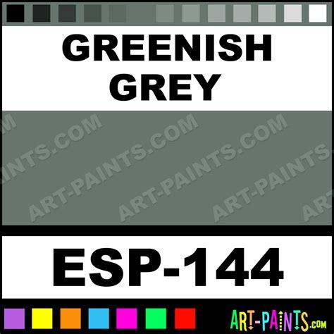 greenish gray greenish grey specialist pastel paints esp 144