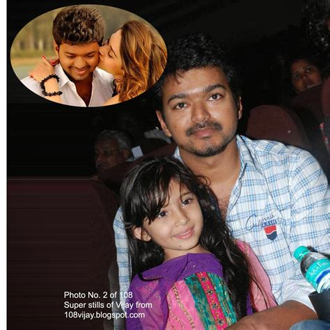 actor vijay daughter recent photos actor vijay daughter divya saasha 2013 www pixshark com