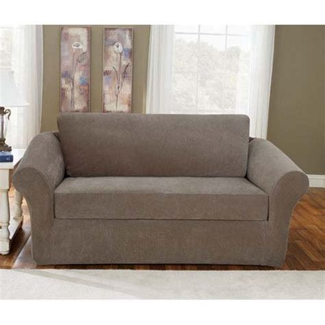 discount sure fit slipcovers stretch sofa covers cheap sure fit stretch metro 2 sofa