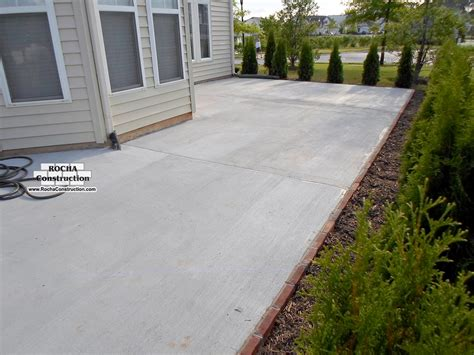 concrete patios rocha construction silver md