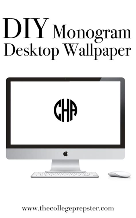 computer wallpaper monogram college prep diy monogram desktop wallpaper