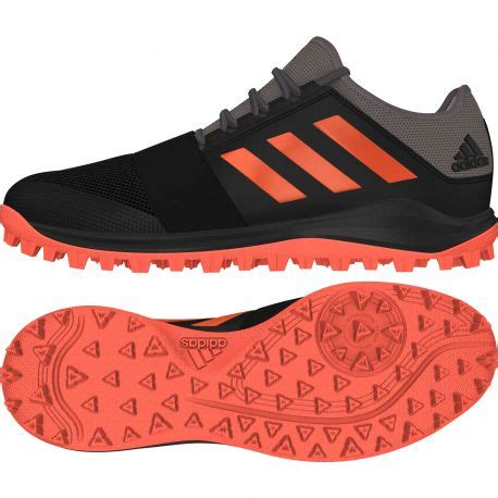 buy the adidas hockey divox 1 9s shoes black 2018 19 next day delivery and 0 finance