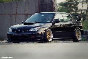 Stanced Subaru Sti Breaking Necks On Tiffany S Ian S Subaru Sti