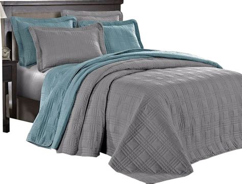 oversized coverlet shop houzz imzi home 3 piece oversized bedspread