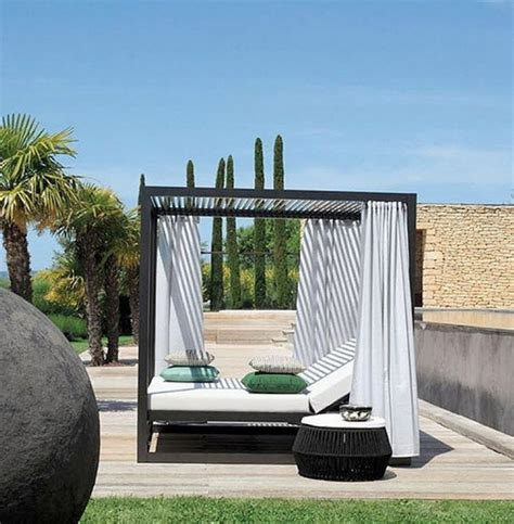 outdoor beds with canopy romantic outdoor canopy beds