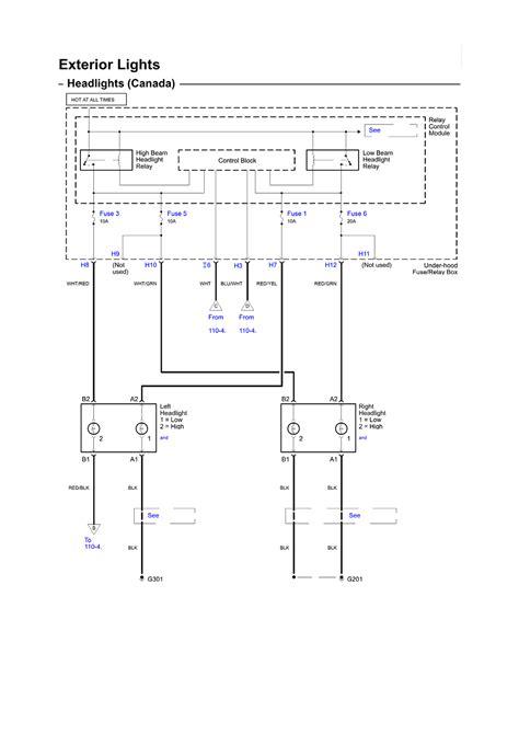 2006 honda accord wiring diagram repair guides wiring diagrams wiring diagrams 113