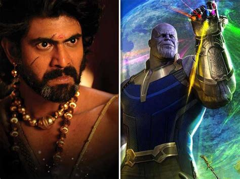 actor of thanos rana daggubati gives voice for avengers infinity war