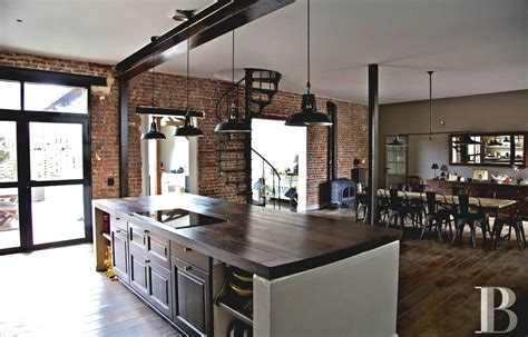 large rustic kitchen design with faux red brick backsplash and oak brick for kitchens full size of cool terracotta floor