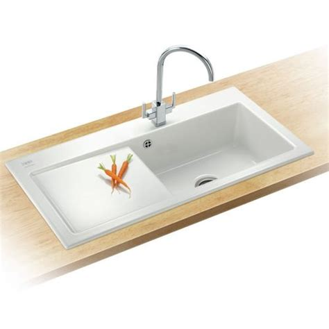 Ceramic Kitchen Sink Villeroy And Boch Franke Mythos Mtk611 White Ceramic