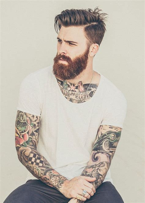 guys with beards and tattoos 25 best ideas about tattooed on geometry