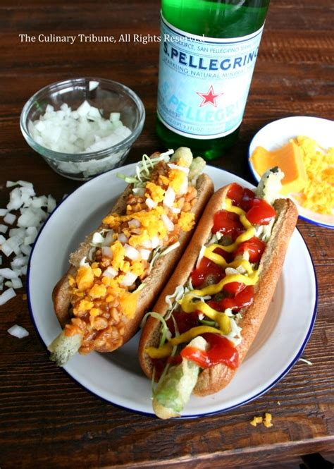 dogs and asparagus the culinary tribune asparagus dogs and chili dogs アスパラガス
