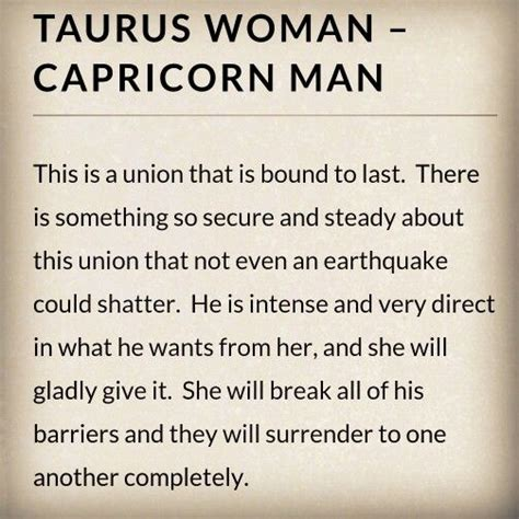 capricorn woman and taurus man in bed taurus woman capricorn man i m a taurus pinterest