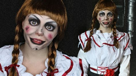 annabelle doll halloween makeup how to become your favorite scary movie character this
